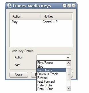 itunes media keys