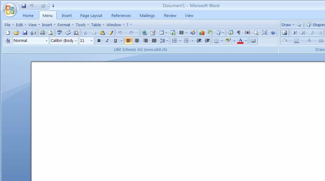 microsoft office 2007 set up