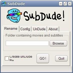 subtitle renamer