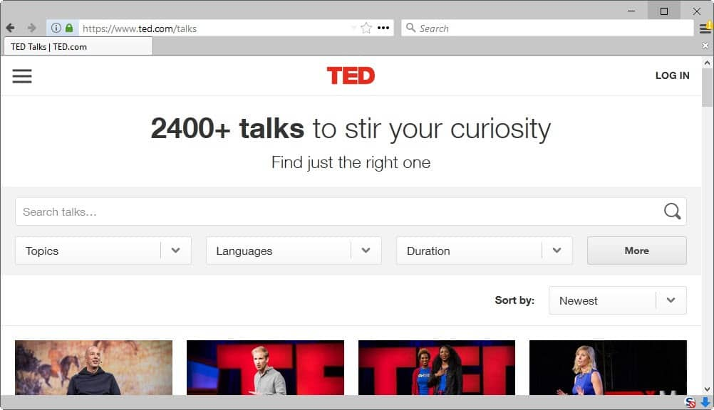 TED Talks List