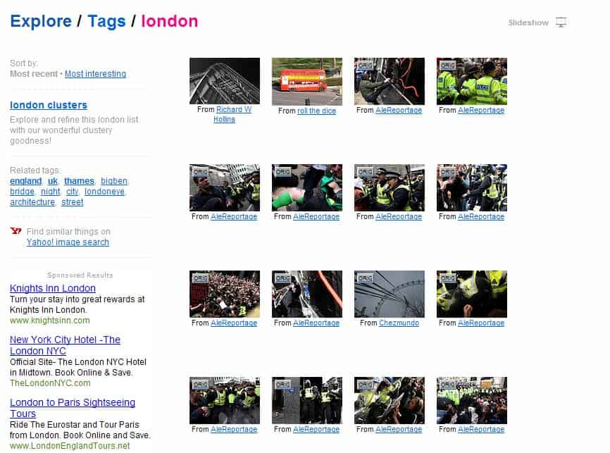 flickr direct photo links