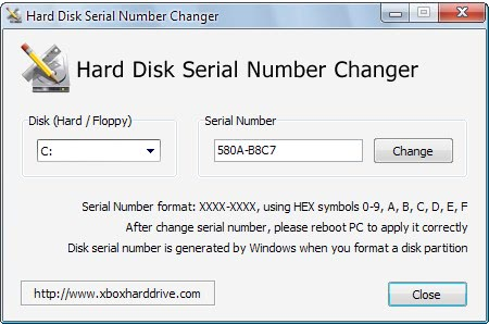 Hard Disk Serial Number Changer - gHacks Tech News