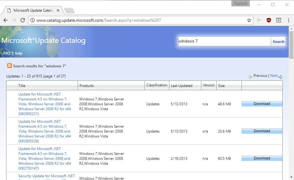 Microsoft Download Portals Overview