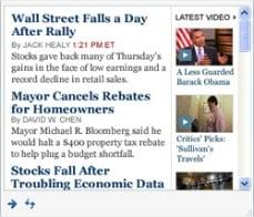 new york times updates