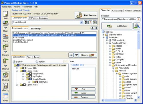 SysAdmin: Free Backup Software – Best Windows Backup