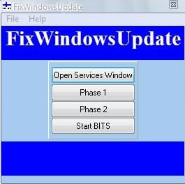 windows update fix