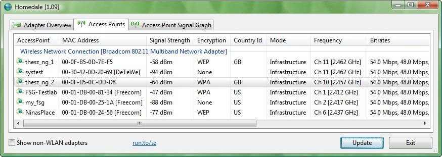 wireless networking software