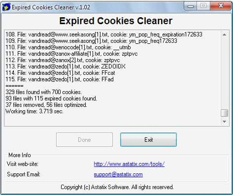 expired cookie