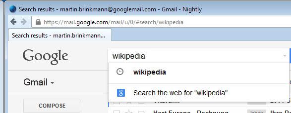 gmail search google