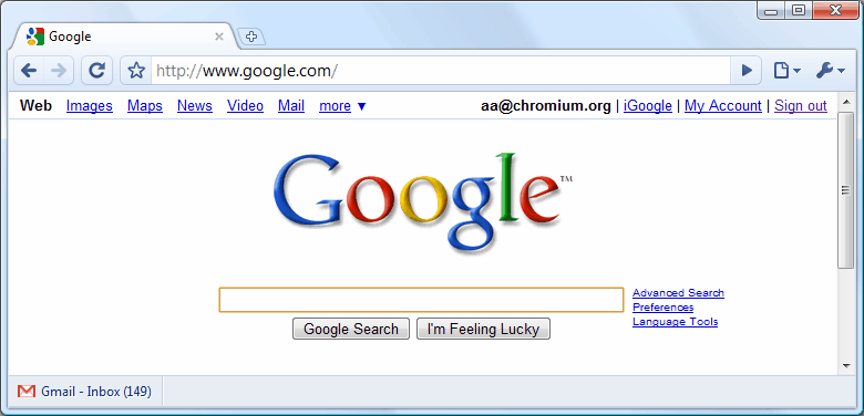 google browser