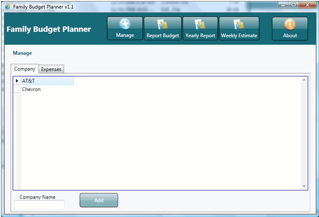 home budgeting software