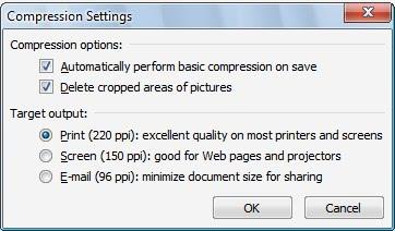 powerpoint compress