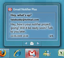 windows 7 gmail