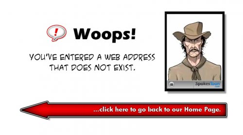 404 Toons Adds Fun To 404 Error Pages