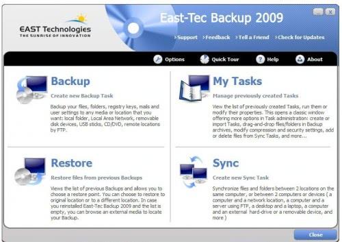 backup software