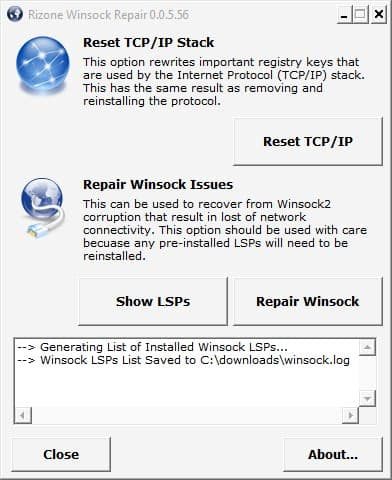 fix winsock errors