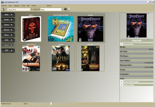 collection software