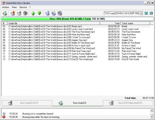 disc burning software