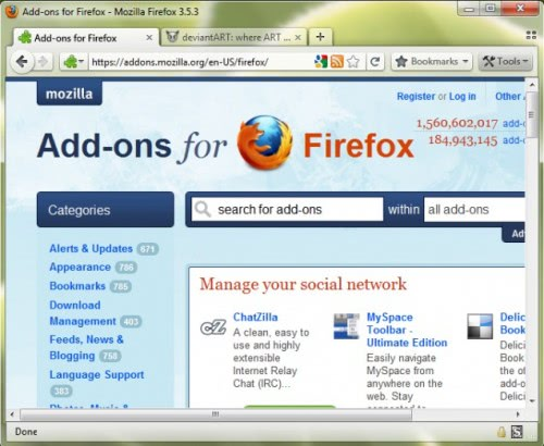 firefox4 theme tabs on top
