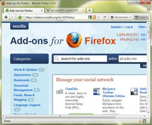 firefox4 theme tabs on top