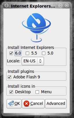 Install Internet Explorer on Linux with IEs4Linux