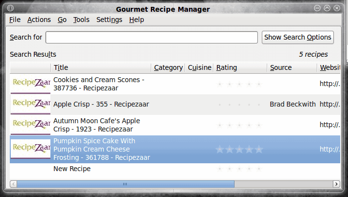 Feed your inner chef with Gourmet Recipe Manager