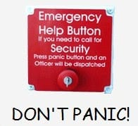 Don't Panic Lets You Run And Hide Software Groups