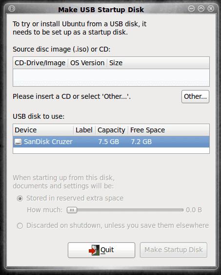 How to create a bootable USB Ubuntu drive