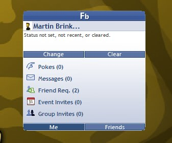 facebook gadget