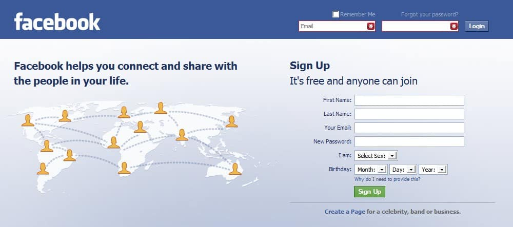 Facebook Login Page - gHacks Tech News