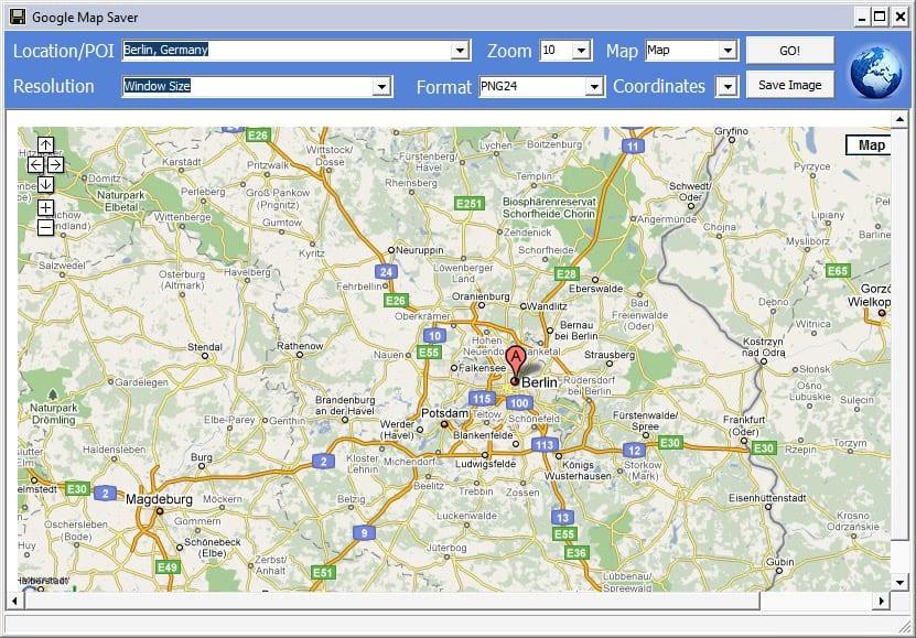 Map Of Germany Google.Google Map Saver Ghacks Tech News