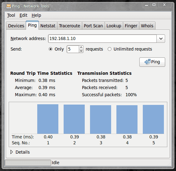 Troubleshoot networking problems with GNOME's Nettools