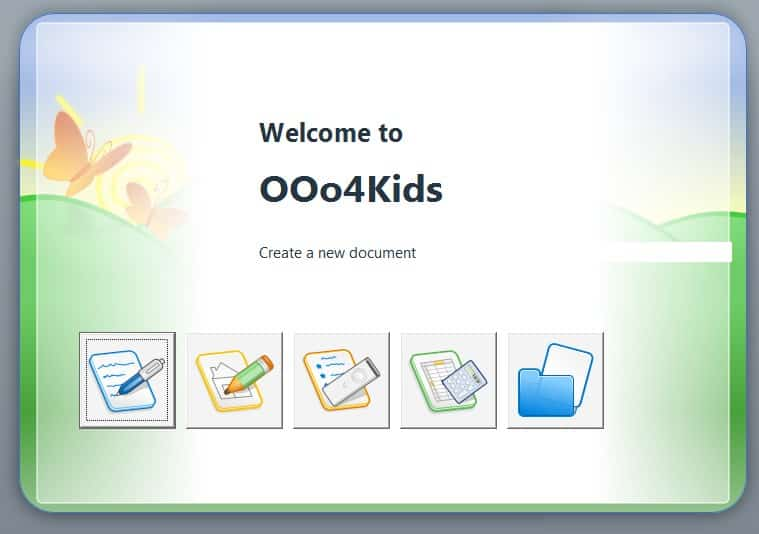 open office 4 kids