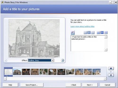 photo story 3 windows