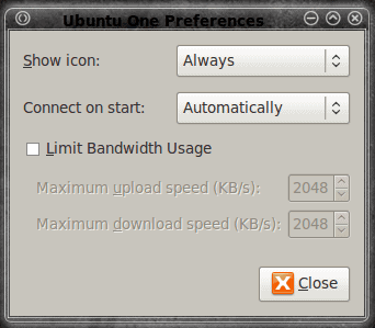 Install and use Ubuntu One