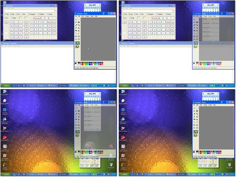 WinShake Adds Aero Peek And Share To Windows Vista and XP