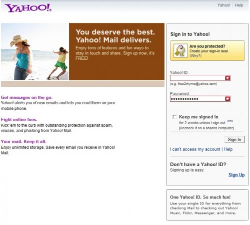 TopOveralls: yahoo mail signin - photos