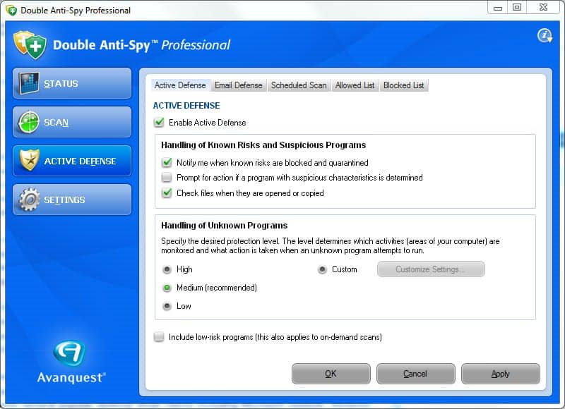 anti-spyware software
