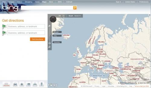 Bing Maps Gets An Update