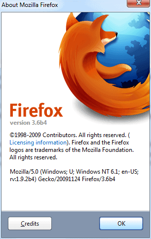 Firefox 3.6 Beta 4 Released