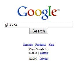 google xhtml