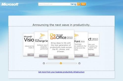 Microsoft Office 2010 Beta Downloads Live