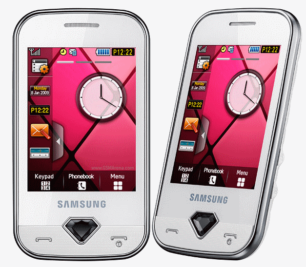 Samsung Diva Phones Turn Up The Bling Factor