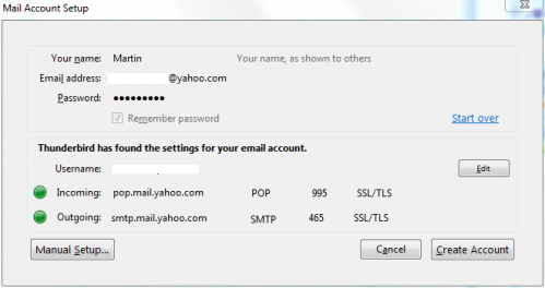 Setting Up Email Accounts In Thunderbird