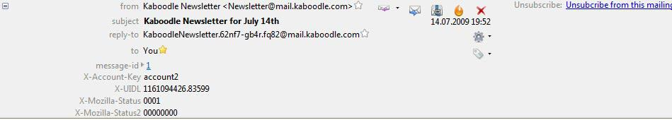 unsubscribe mailing lists