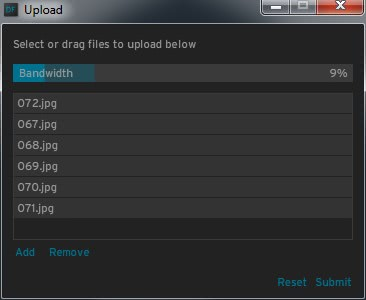 upload photos flickr