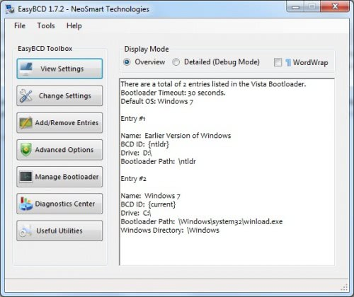 How To Manage The Windows 7 Boot Menu