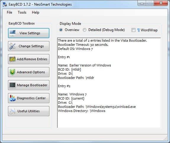 windows 7 boot menu