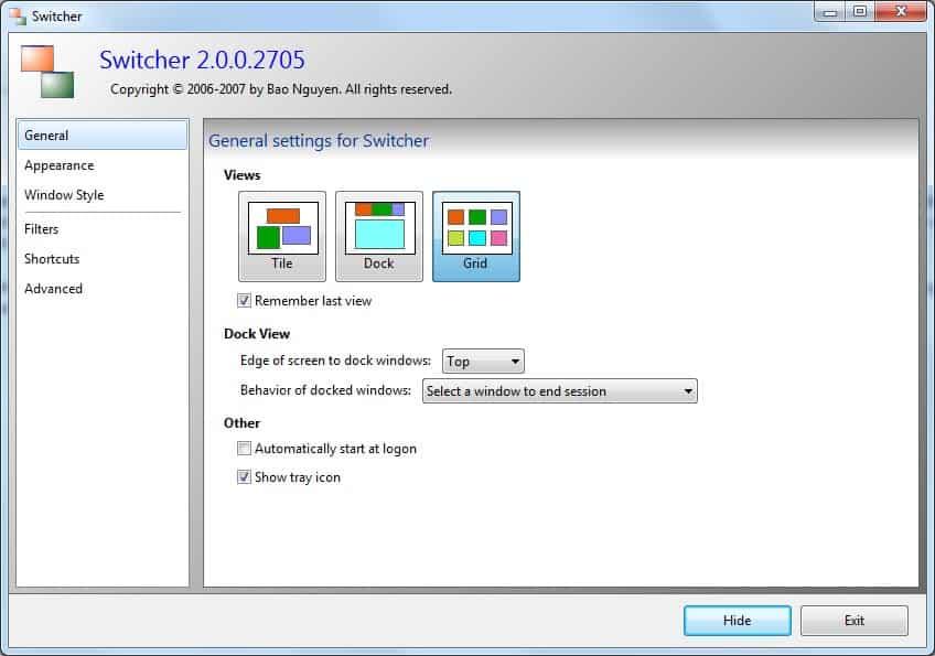 windows application switcher
