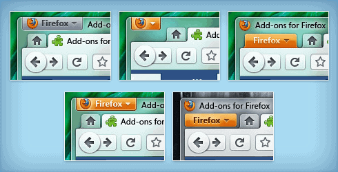 Firefox 4 button variations